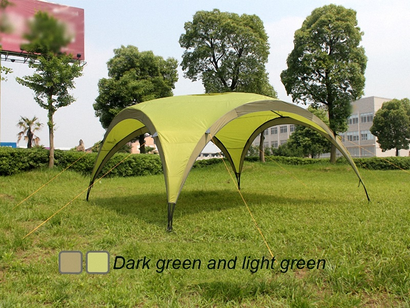 large shelter tent