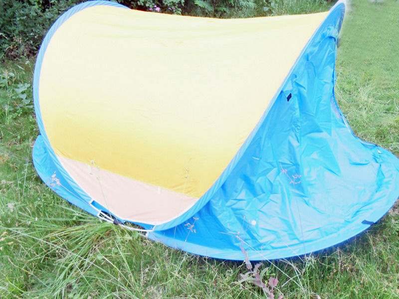 2 persons pop up camping tent