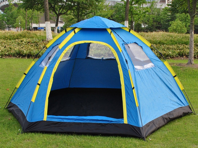 Hexagon Camping Tent Durable Camping Tent