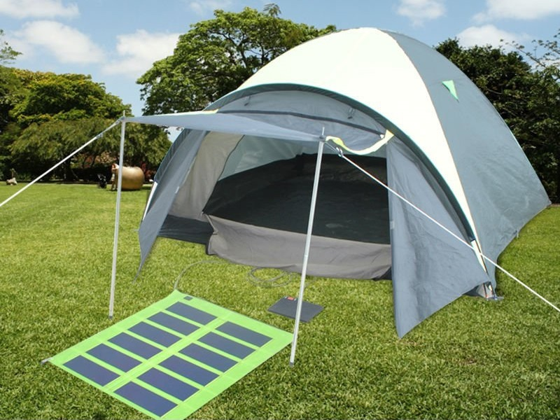 solar power tent & solar power tent folding camping tent