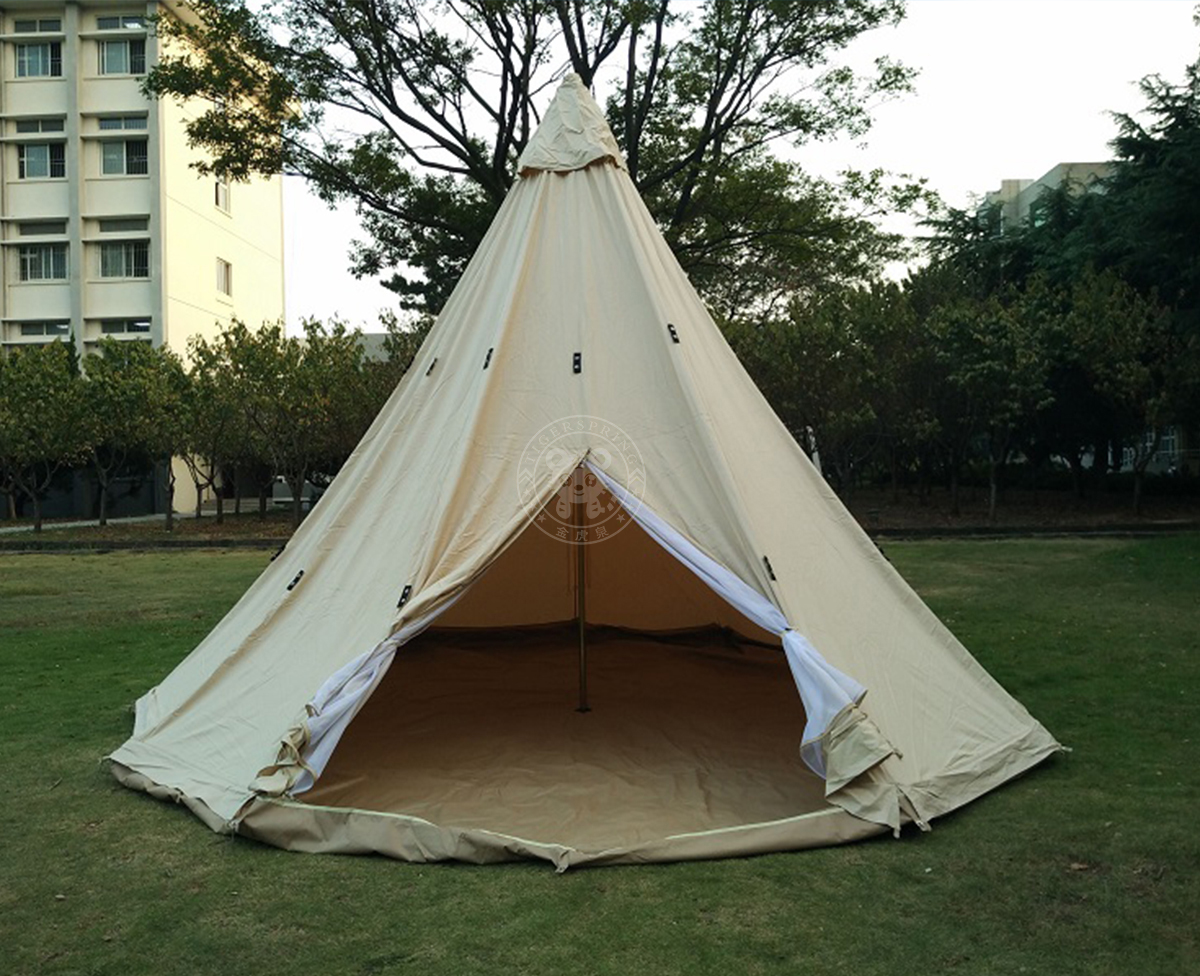 Our c&ing teepee tent is 5 dimater. Featured in indian style a frame entrance and heavy duty. & canvas bell tent teepee tent family camping tent outdoor ...