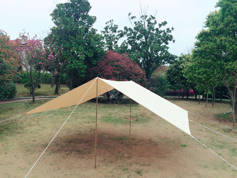 Canvas front awning & sun shelter tent shelter tent awning tent accessories ...