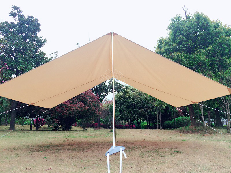 We are professioanl supplier of canvas c&ing tent. We increase the 4x3m front awning in order to matching the canvas tent. & sun shelter tent shelter tent awning tent accessories ...