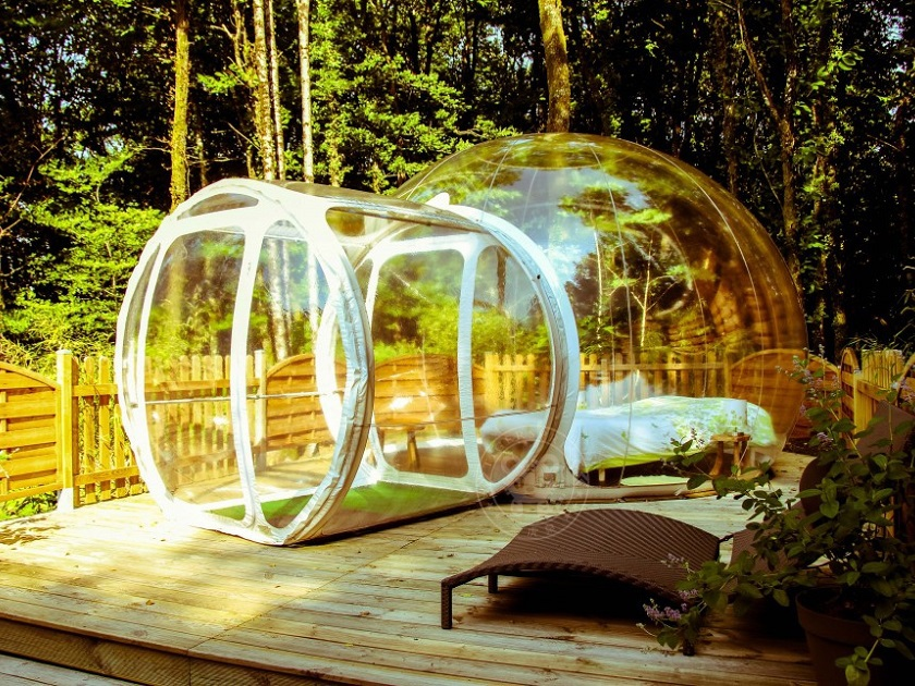 Inflatable Crystal Bubble Inflatable Tent Manufacturing