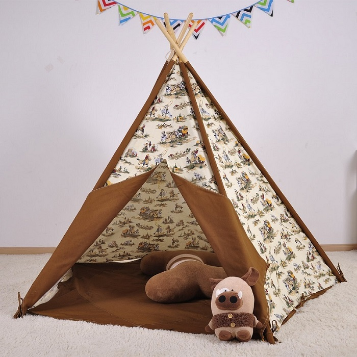 & teepee tent kid play tent