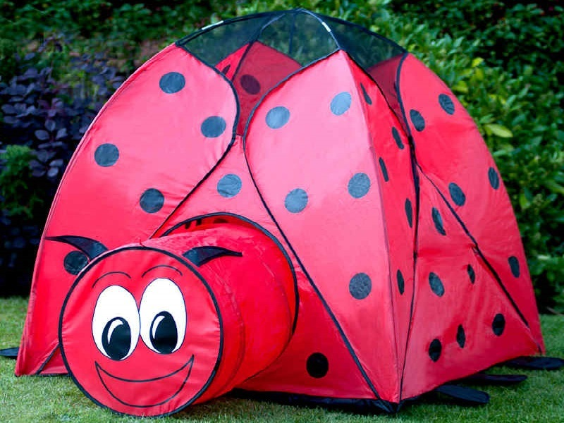 ladybug kids play tent : cheap play tents - memphite.com