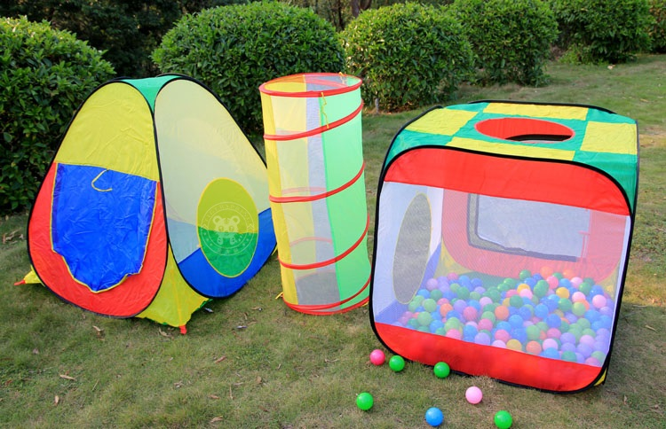 & large playhouse tent waterproof children kids play tent