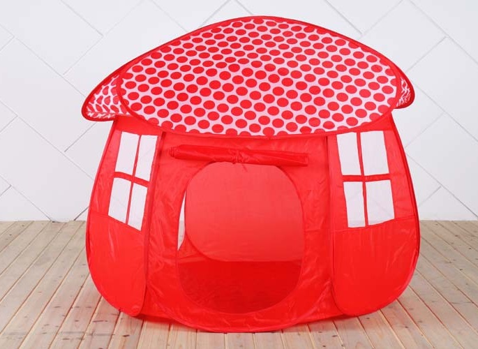 Children mushroom tent playhouse can provide a private room for your baby. A baby can sleep read books and play toys with their friends in the tent. & tent playhouse mushroom tent playhouse children mushroom tent ...