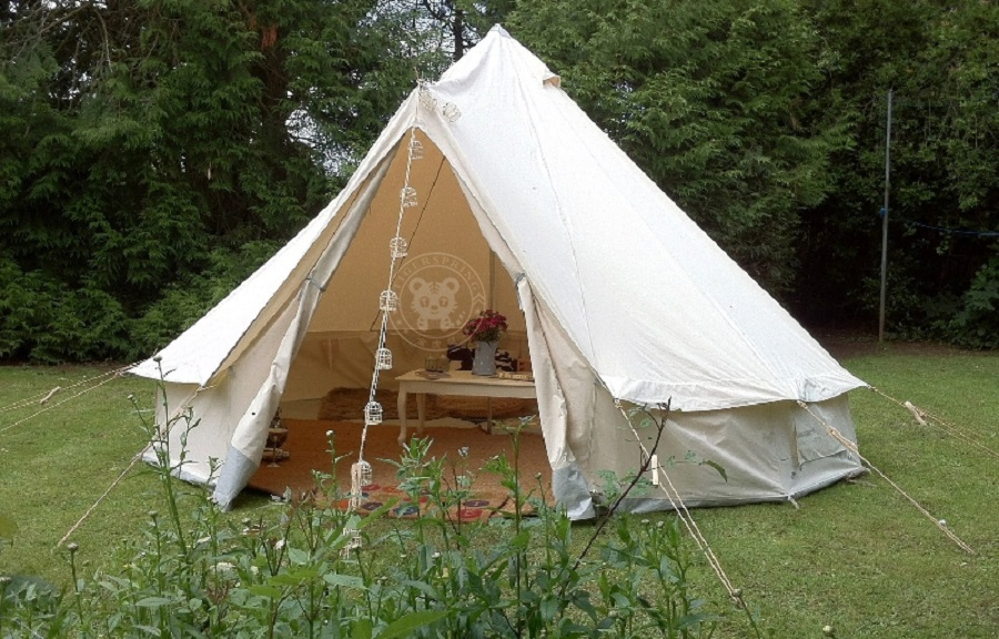 Bell tent bell tent canvas bell tent for Canvas tent plans