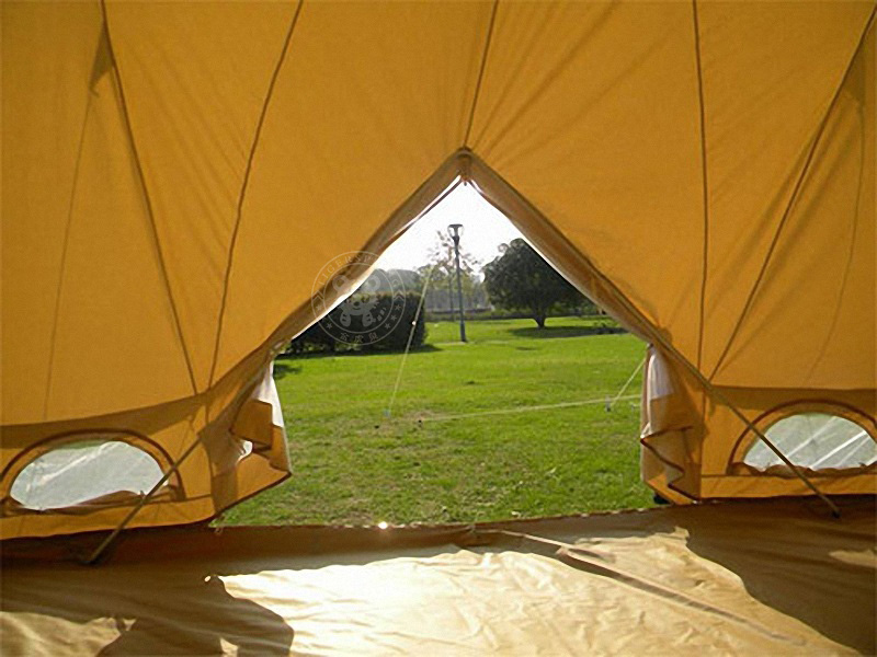 6m Bell Tent Cotton Canvas Bell Tent Safari Bell Tent