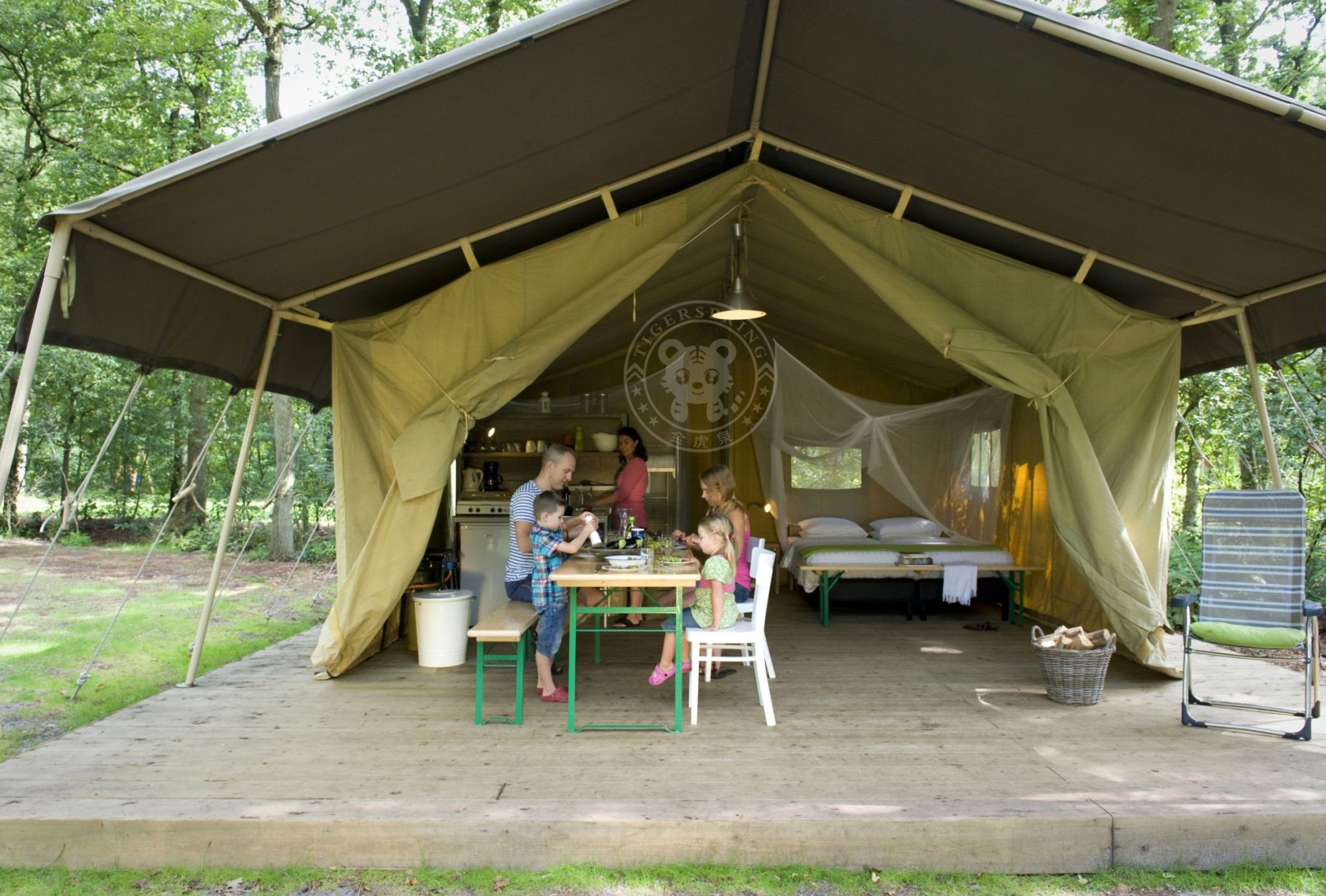 For the serious c&er who wants to put up a semi-permanent tent Safari Tents work well on decking platforms or just on the ground. & canvas safari tent safari tent for sale