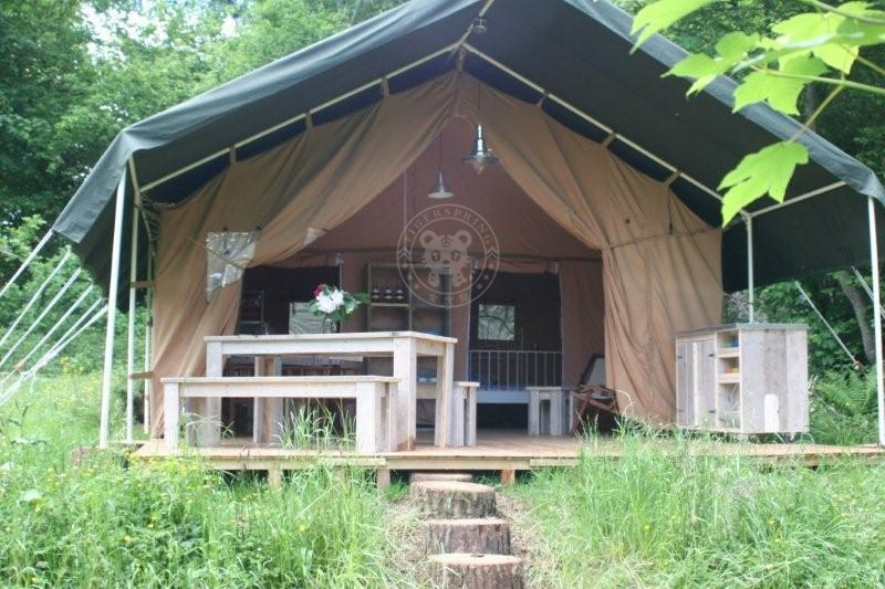 For the serious c&er who wants to put up a semi-permanent tent Safari Tents work well on decking platforms or just on the ground. : permanent tent cabins - memphite.com