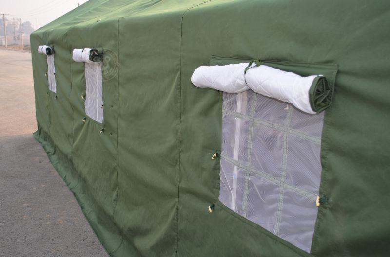 This military tent is size in 6*12m which can accommodate about 30 person. Made of 420gsm canvas 1.2mm thickess steel tube.Also can add extra insulation ... & army tent military tent canvas military tent