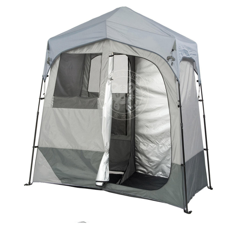 Tent Double Garage : Camping shower tent pop up double